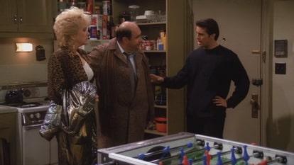 Джоуи выясняет отношения с отцом