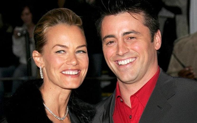 Счастливый Мэтт с женой